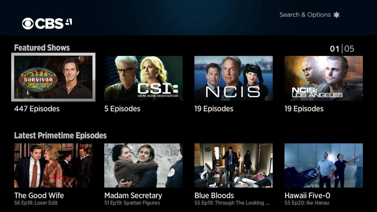 CBS All Access launches on Amazon Channels