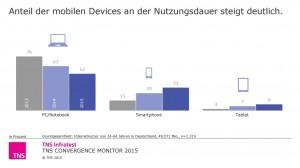 TNS Convergence Monitor 2015 Internet usage