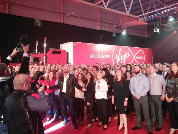 Virgin Media Ireland launch