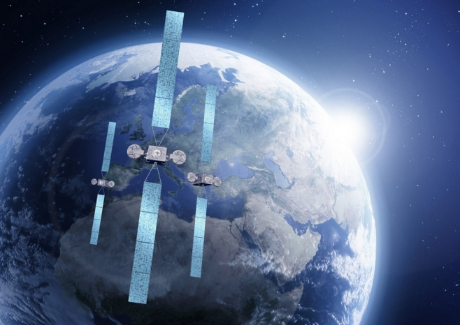 Eutelsat Hot Bird satellites (Eutelsat)
