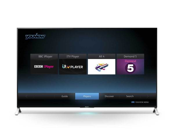 YouView on Sony