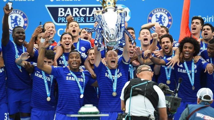 Premier League Champions Chelsea