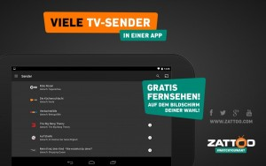 Zattoo app