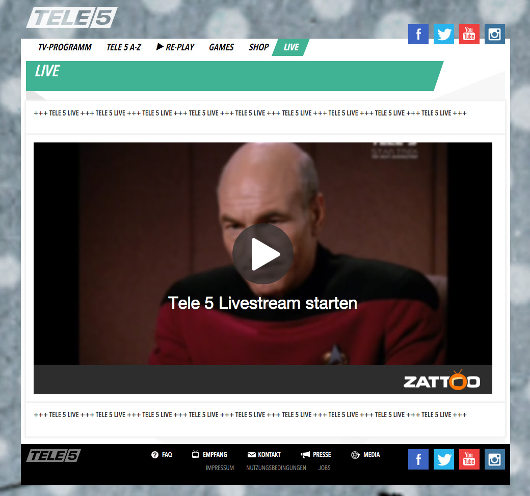 tele5 livestream