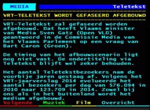 VRT_einde_Teletekst