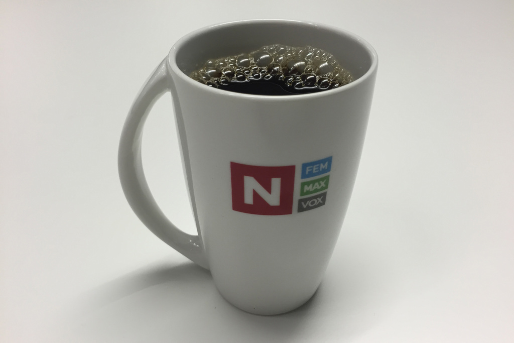 TV Norge coffee