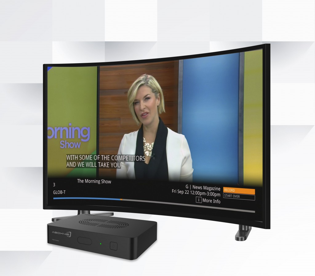 4eaf52137aeb Canada's Comwave has selected Abox42 M30-Series Smart Set-Top Box platform  for its new ComwaveTV service which is launching this September.