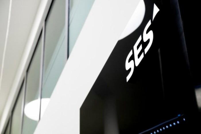SES logo on Building