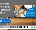 Estonian HbbTV introduces interactive direct mail offers