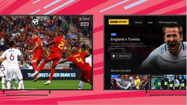 With the World Cup not even a week old BBC Sport has upgraded its connected TV app to place a greater emphasis on live content