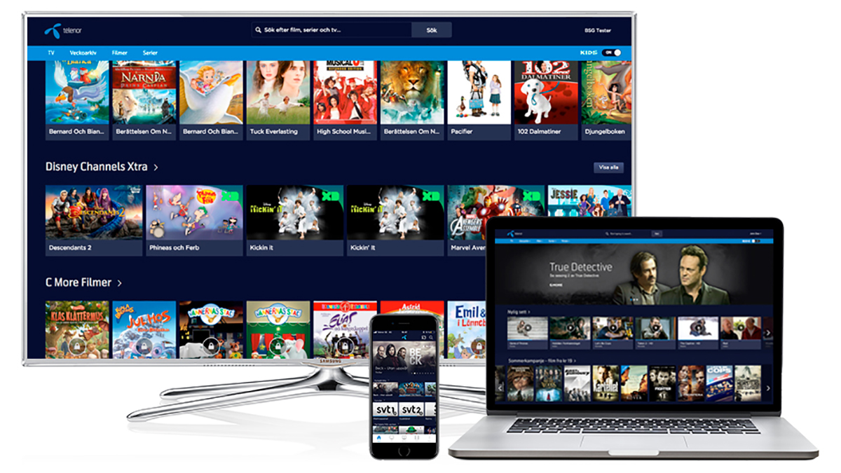Telenor expands streaming service