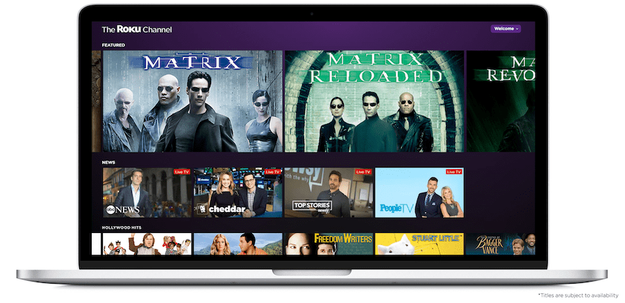 Roku Channel comes to web and mobile