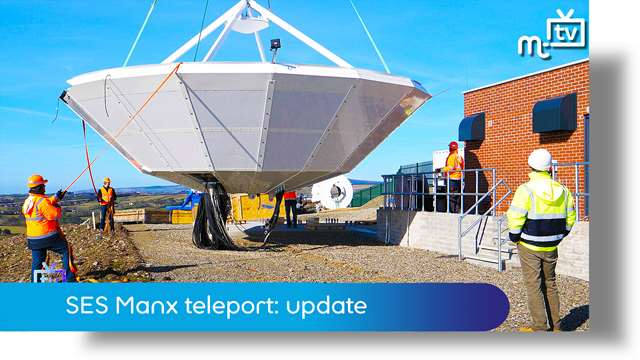 SES opens Isle of Man teleport