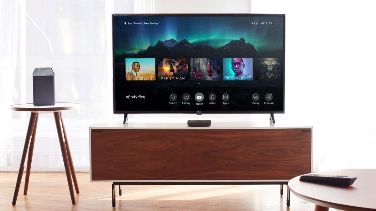Comcast launches Xfinity Flex IPTV platform