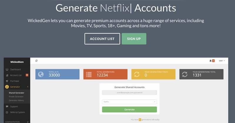 Australian man arrested for selling one million Netflix, Spotify