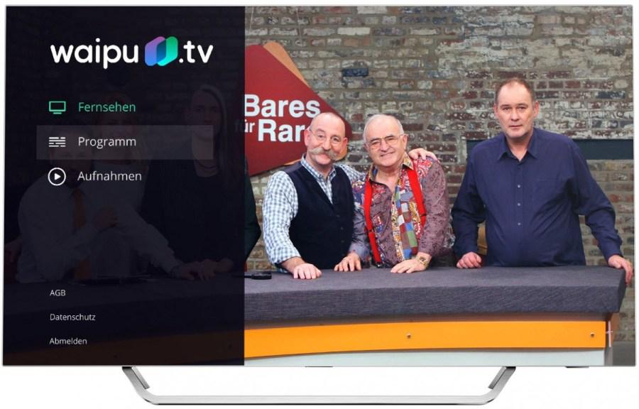 waipu tv comes to Android TV