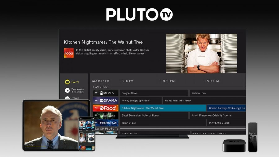 Pluto TV added to Apple devices in UK & German-speaking markets