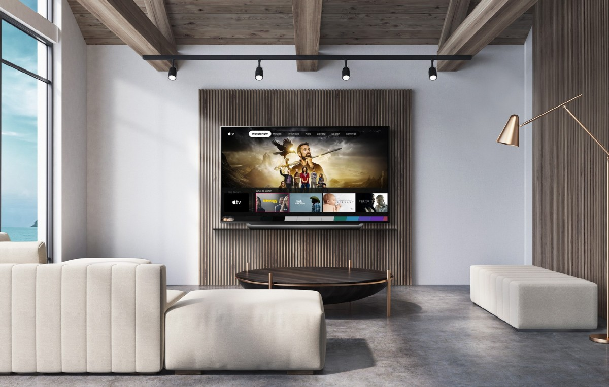 LG TVs get the Apple TV app