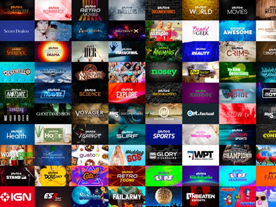 Pluto passes 100 UK channels