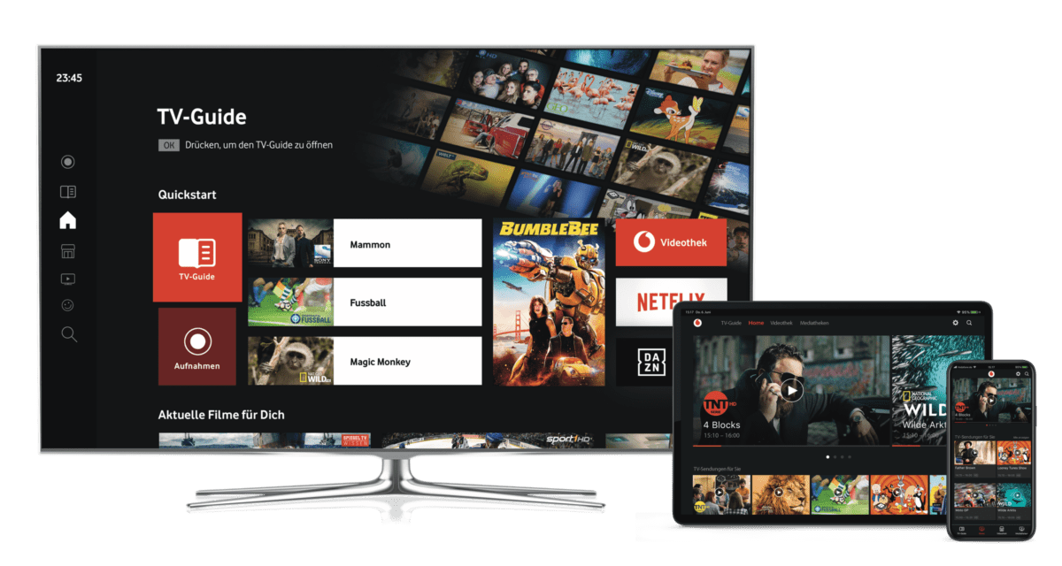 Vodafone Adds Dazn To Tv Platform In Germany Further Markets To Follow