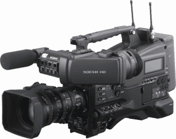 Ex-Demo Sony PMW-400K XDCAM Camcorder with 16x Zoom HD Lens