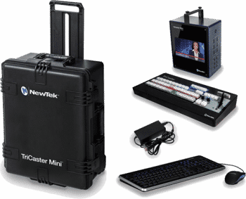 Ex-Demo Tricaster Mini HD-4i Multi-Standard Bundle