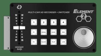Convergent Design Element 2 Multi-Camera HD Recorder and Switcher