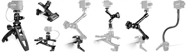 "1/4""-20 Compact Camera Stands & Mount Solutions"
