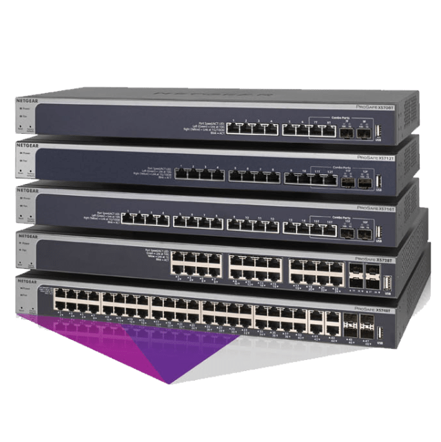 Netgear 10-Gigabit Smart Managed Pro Switch Series XS7xxT