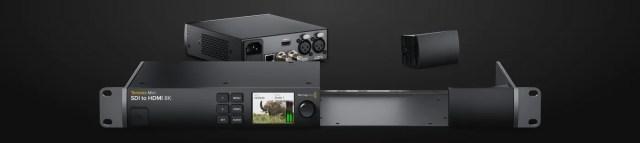 Teranex Mini SDI to HDMI 8K HDR Rack Shelf
