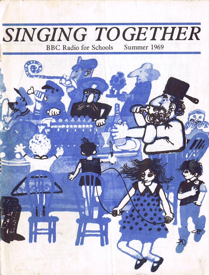 Singing Together cover - Summer 1969
