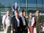 BPG members outside MediaCityUK