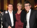 Tim Carter, CEO of Twenty Twenty, with the BPG's Kate Bulkley and Gareth Malone of The Choir: Military Wives
