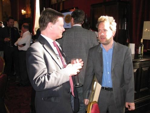 Colin Mann and Rev star and writer Tom Hollander