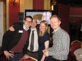BPG Members Jake Kantor, Paul Revoir, Emily Booth (chairman) and Leigh Holmwood