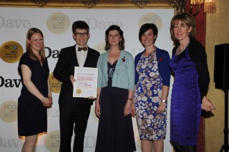Gareth Malone and his Military Wives take Best Factual Entertainment