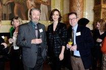 Roger Allam, Rebecca Hall and BPG Member Tim Adler