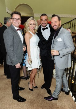 Strictly's Stephen Webb, Kristina Rhianoff, Robin Windsor and Chris Steed
