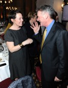 Olivia Colman chats to Michael Palin