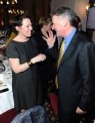 Olivia Colman chats to Michael Palin
