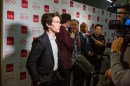 Fionn Whitehead actor in Black Mirror; Bandersnatch talks to the press
