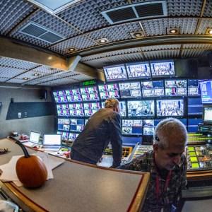 Live Video Production Control Room CBGB Music Festival