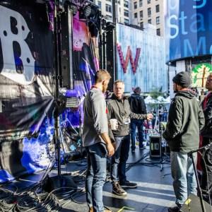 Live Video Production Crew CBGB Music Festival
