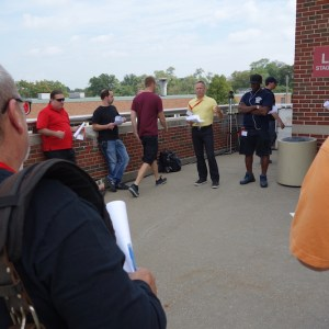 Live Video Production Crew PBS Ferguson