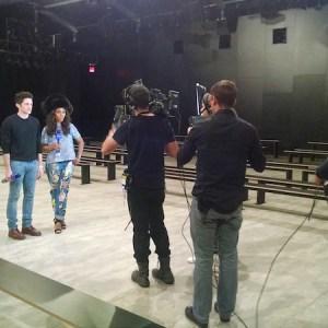 Live Video Production Interview Yahoo Live Entertainment Production