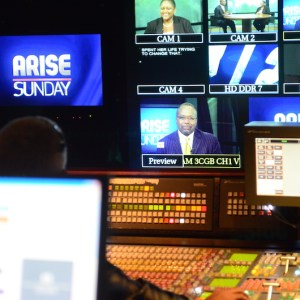 Video Production Control Room DC Arise News Arise Sunday