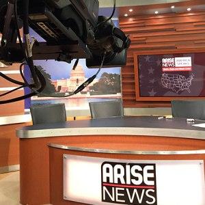 Live Production Arise News DC
