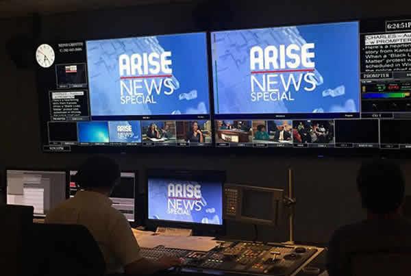"Arise News | Creative Design for ""America Speaks: Cops, Guns & Black Lives"""