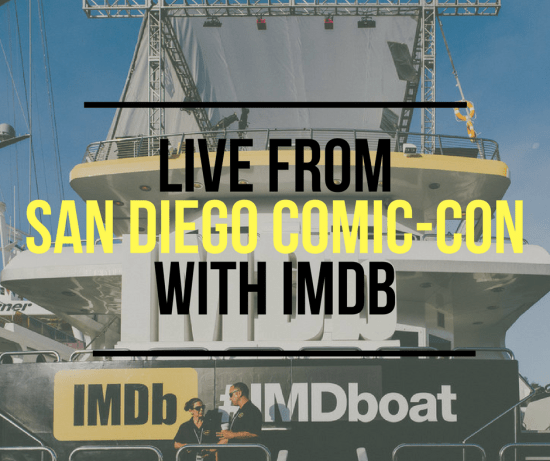 Live From San Diego Comic-Con with IMDb
