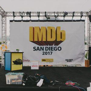 Live Production IMDb San Diego ComicCon